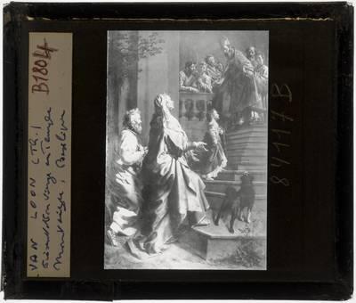Theodoor van Loon. Opdracht van Maria in de tempel