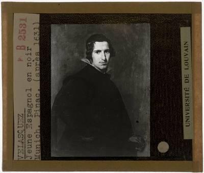 Diego Velázquez. Portret van een jonge man