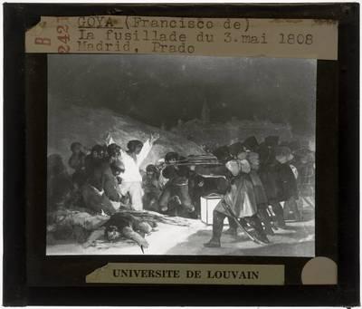 Francisco Goya. De executie van 3 mei 1808