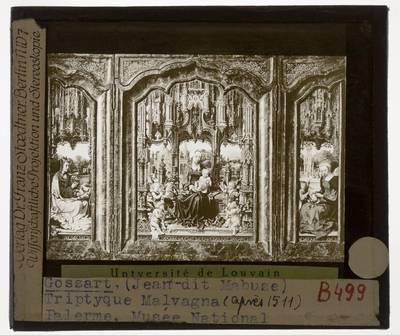 Jan Gossaert. Triptiek van Malvagna