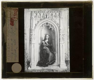 Rogier van der Weyden. Madonne en Kind in een nis