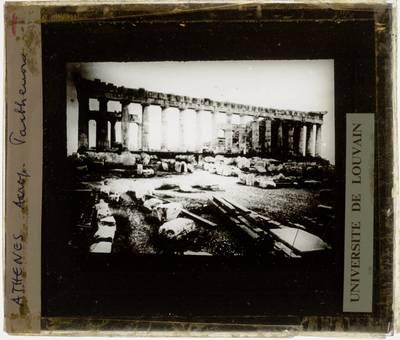 Athene. Akropolis. Parthenon :Zijgevel