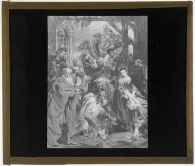 Pieter Paul Rubens. Aanbidding van de koningen