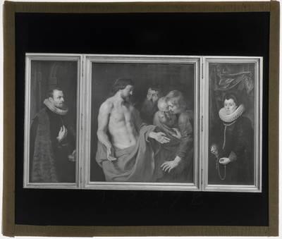 Pieter Paul Rubens. Triptiek met het Ongeloof van Thomas