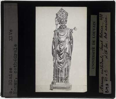 Reliekbeeld van Sint-Blasius van Sebaste