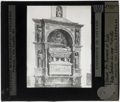 Pietro Lombardo. Grafmonument van doge Niccolò Marcello