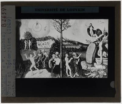 Lucas Cranach der Ältere. Redding en vervloeking