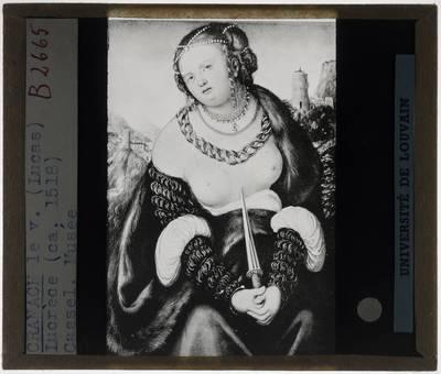 Lucas Cranach der Ältere. Lucretia