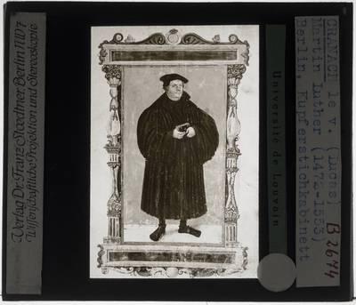 Lucas Cranach der Jüngere. Martin Luther