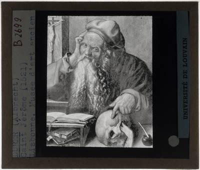 Albrecht Dürer. Sint-Hieronymus in zijn studeerkamer