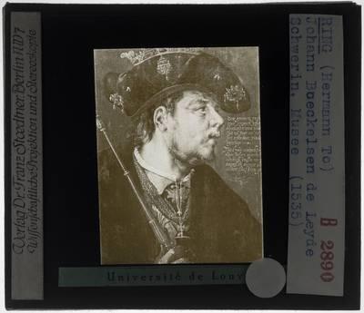 Hermann tom Ring. Portret van Jan van Leiden