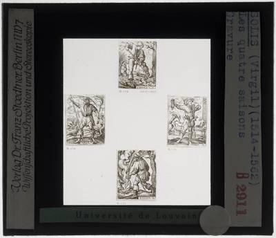 Martin Schongauer. De vier seizoenen