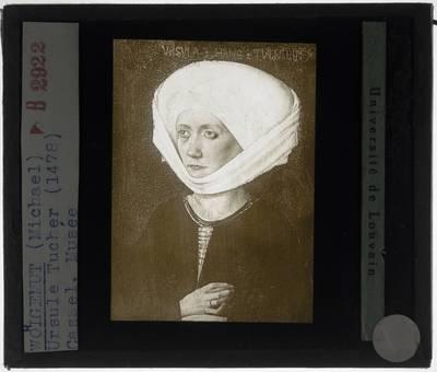 Michael Wolgemut. Portret van Ursula Tucher