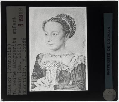 François Clouet. Marguerite de France als kind