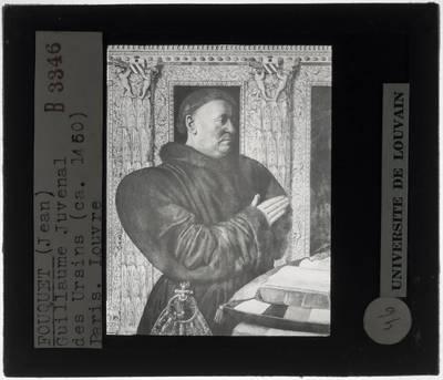 Jean Fouquet. Portret van Guillaume Jouvenel des Ursins
