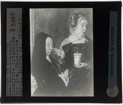 Jean Hey. Madeleine van Bourgogne en Maria Magdalena