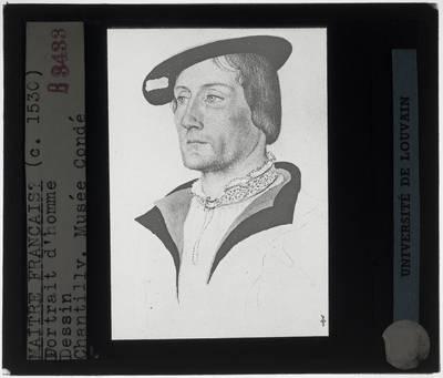 François Clouet. Portret van een man