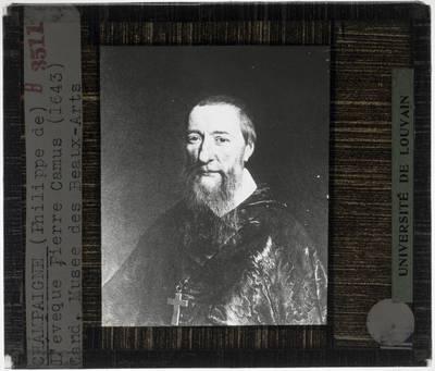 Philippe de Champaigne. Portret van bisschop Jean-Pierre Camus
