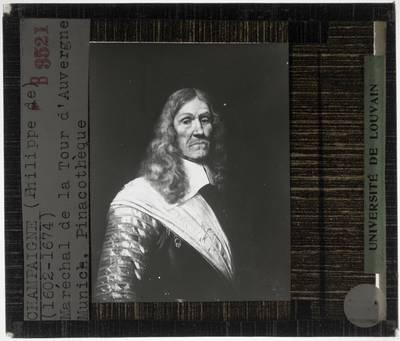 Philippe de Champaigne. Portret van Maarschalk Henri de La Tour d'Auvergne