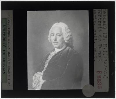 François-Hubert Drouais. Portret van Turgot