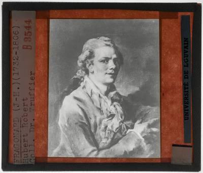 Jean-Honoré Fragonard. Portret van een jonge man