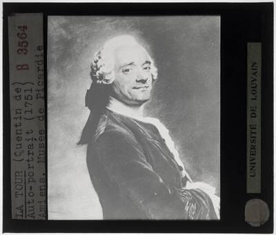 Maurice Quentin de La Tour. Zelfportret