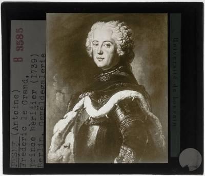 Antoine Pesne. Frederik de Grote als kroonprins