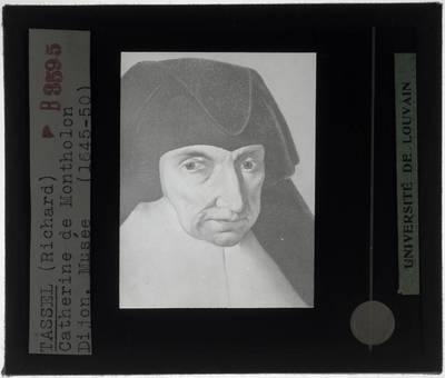 Richard Tassel. Portret van Catherine de Montholon