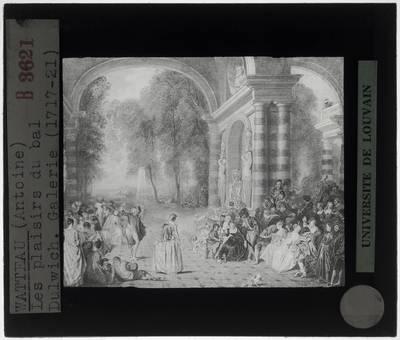 Antoine Watteau. Het plezier van het bal