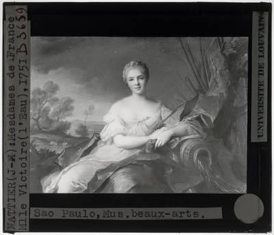 Jean-Marc Nattier. Madame Marie-Louise-Thérèse-Victorie de France