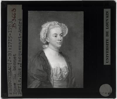 Jean-Baptiste Perronneau. Vrouw met kapje