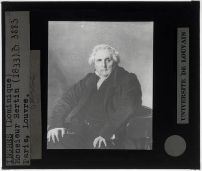 Jean Auguste Dominique Ingres. Portret van Louis-François Bertin