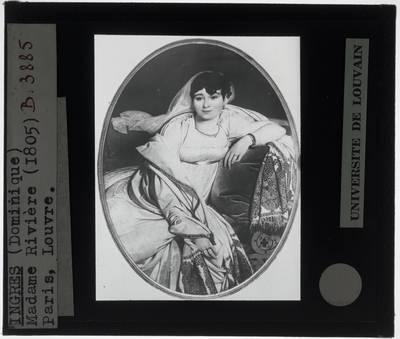 Jean Auguste Dominique Ingres. Portret van Madame Rivière