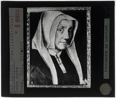 Jan van Scorel. Portret van een oude vrouw