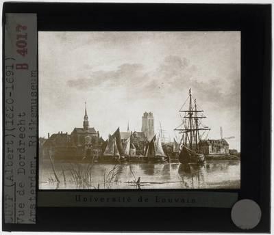 Aelbert Cuyp. Zicht op Dordrecht :Detail