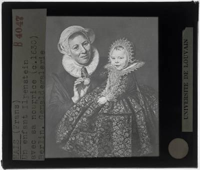 Frans Hals. Portret van Catharina Hooft en haar min