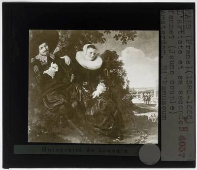 Frans Hals. Portret van een stel, waarschijnlijk Isaac Abrahamsz Massa en Beatrix van der Laen