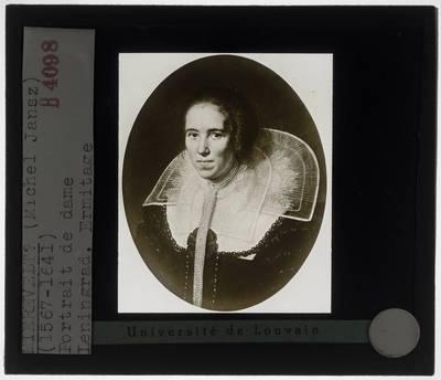 Michiel Jansz. van Mierevelt (?). Portret van een vrouw