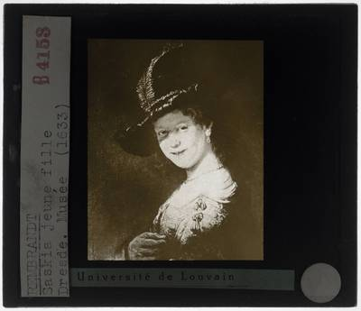 Rembrandt. Portret van Saskia van Uylenburgh als meisje