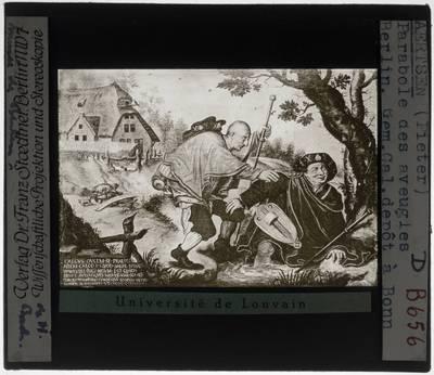 Hieronymus Bosch (naar). Parabel van de blinden