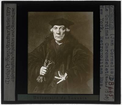 Jan Cornelis Vermeyen. Portret van Kanselier Jan II Carondelet