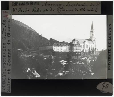 Annecy. Basilique de la Visitation en conservatoire d'art et d'histoire