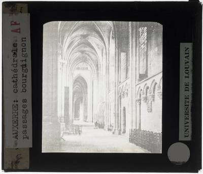 Auxerre. Cathédrale Saint-Étienne :Interieur: Kooromgang