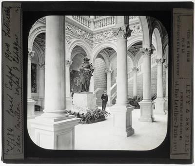 Paris. Spaans paviljoen van de wereldtentoonstelling in 1900 :Interieur