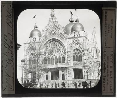 Paris. Italiaans paviljoen van de wereldtentoonstelling in 1900 :Exterieur