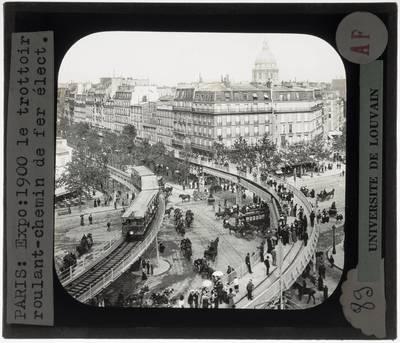 Paris. Rue de l'Avenir en metro