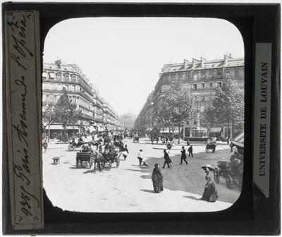 Paris. Avenue de l'Opéra
