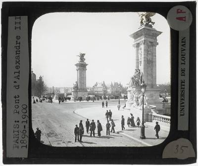 Paris. Pont Alexandre III