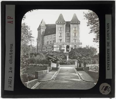 Pau. Château de Pau :Exterieur