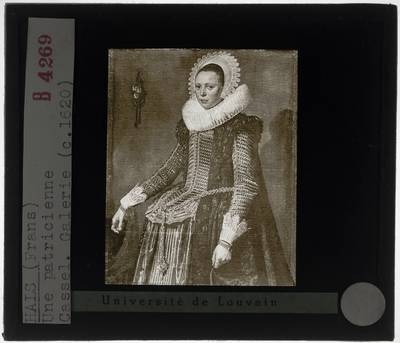Frans Hals. Portret van een onbekende vrouw